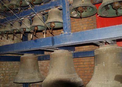 Cloches du carillon de Capelle-la-Grande